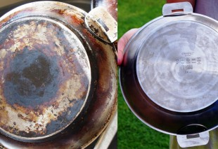 Before and after pan